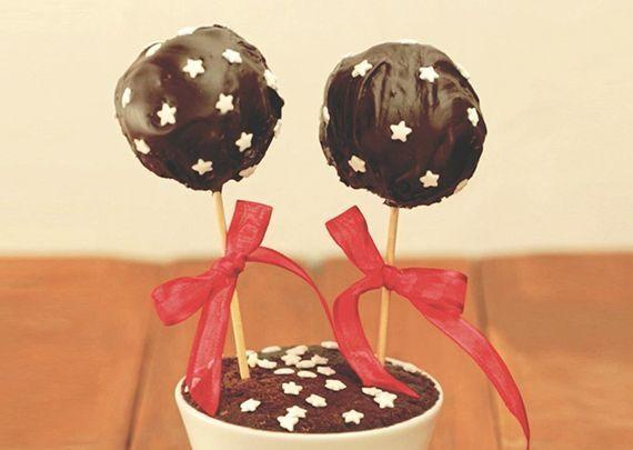 Cakepops di merendine Pan di Stelle
