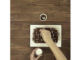 decorare il plumcake con sorpresa