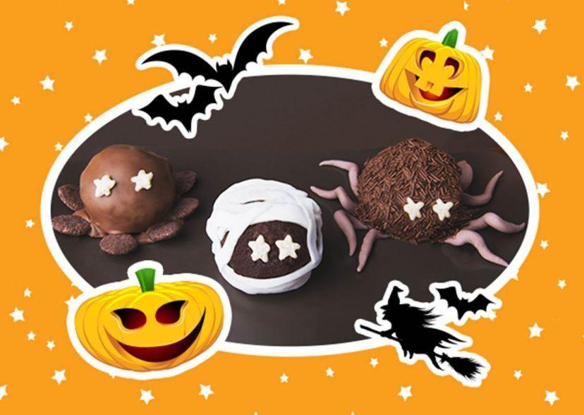 Pan di Stelle Halloween Pops